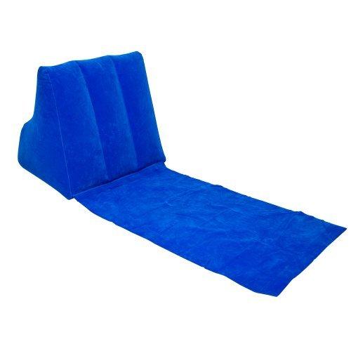 lesekissen strandmatte rueckenlehne wickedwedge blau - Lesekissen - Strandmatte - Rückenlehne WickedWedge Blau