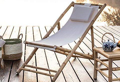 Dekoleidenschaft Liegestuhl aus Bambus Canvas Creme klappbar Campingliege Gartenliege 481x330 - Dekoleidenschaft Liegestuhl aus Bambus & Canvas, Creme, klappbar, Campingliege, Gartenliege, Strandliege